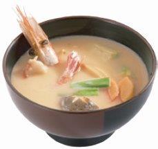 牡丹蝦味噌湯