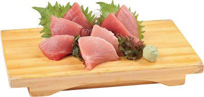 黑鮪魚盛合生魚片