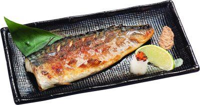 9-01 鹽烤鯖魚