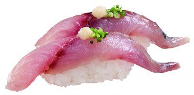 竹筴魚握壽司