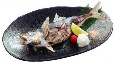 鹽烤竹筴魚