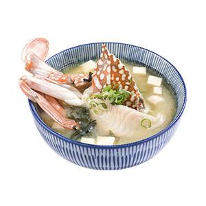 藍鑽蟹味噌湯300X300