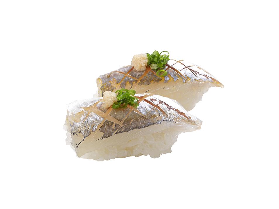 竹筴魚握壽司2M