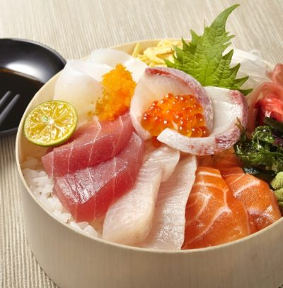 極品海鮮丼