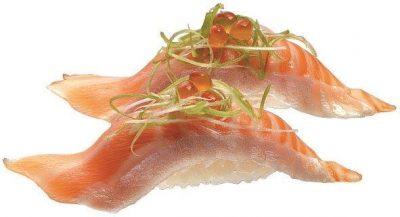 1-05 鮭魚腹握壽司