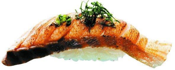 2-12 炭燒鮭魚握壽司