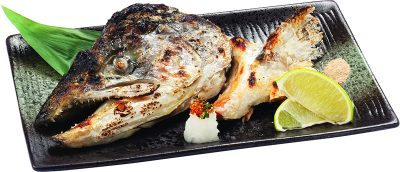 9-03 鹽烤鮭魚頭
