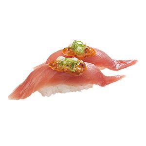 辛醬鮪魚握壽司300X300