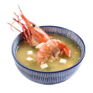2018牡丹蝦味噌湯